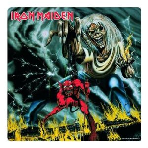 Iron Maiden Number Of The Beast drinks mat / coaster (ro)